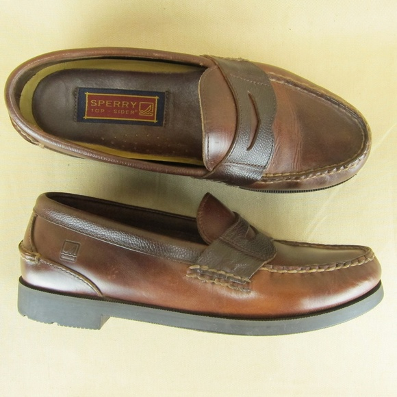 53a7fc02737 Sperry Top Sider Penny Loafer Moc Toe US 8.5 M Men. Sperry.  M 5caec5b57f617f1276502353. M 5caec5c07f617f736050236f.  M 5caec5b72eb33f9055f87620